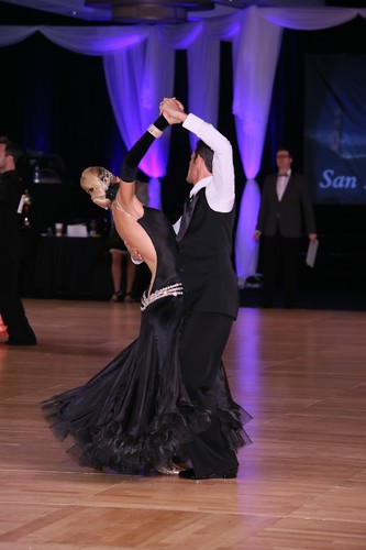 Georgianna and Chad - San Francisco Open 2015 Smooth Ballroom