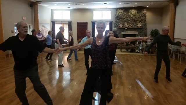 Flagstaff November Tango ballroom group class