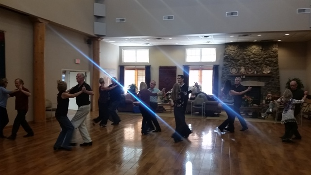 Flagstaff November Waltz ballroom group class