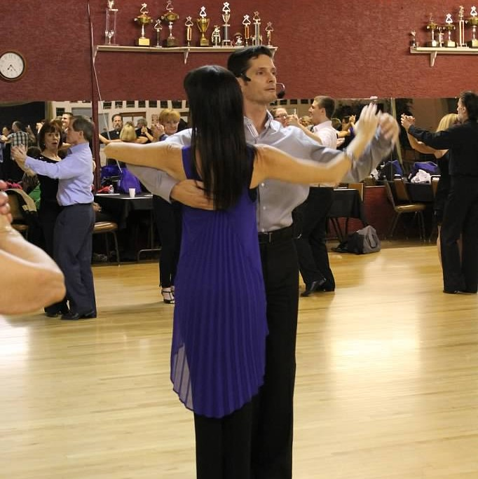 Ballroom lesson group class at USA Dance in Phoenix