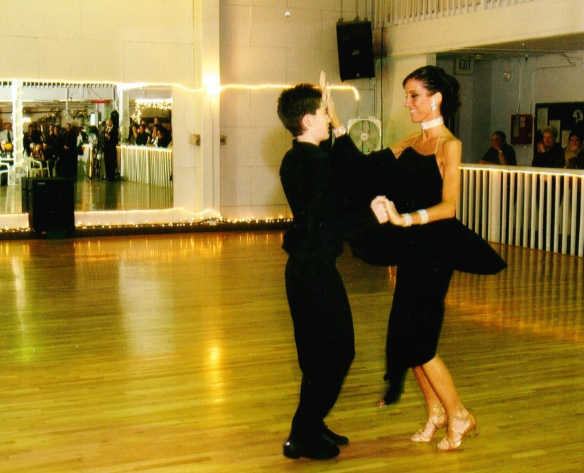 Michael and Marie Ballroom dancing - Sacramento 2004