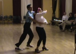 Chad and Ann perform Swing JJive